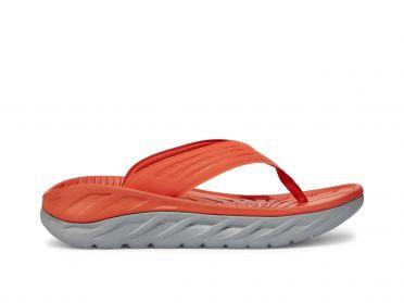 Hoka One One ORA Recovery Flip slippers rood heren