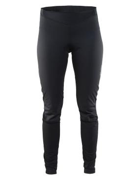 Craft Pulse spinning broek lang zwart dames
