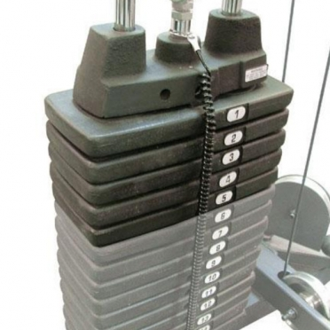 Life Fitness extra weight stack 23 kilogram