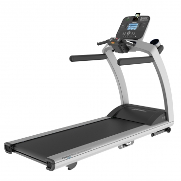 Life Fitness loopband T5 Track+ Console display