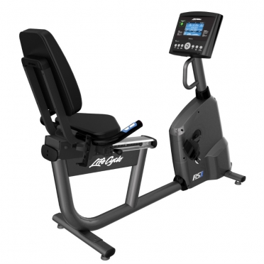 Life Fitness ligfiets RS1 recumbent LifeCycle Go console Nieuw