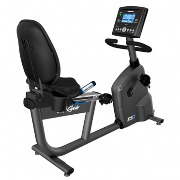 Life Fitness ligfiets RS3 recumbent LifeCycle Go demo