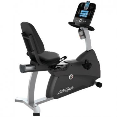 Life Fitness ligfiets recumbent Cycle R1 Track+ gebruikt