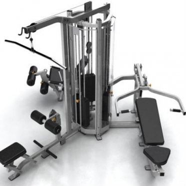 Matrix krachtstation G1 3-Stack Multigym Multistation Silver