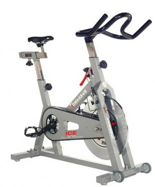 Tomahawk spinningbike XXL ICE zilver DEMO
