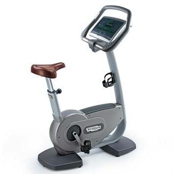 TechnoGym hometrainer Bike Excite 700i.e classic zilver met LCD TV gebruikt