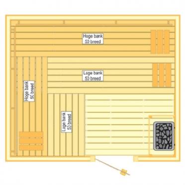 VSB Sauna Prestige (250x210x205)