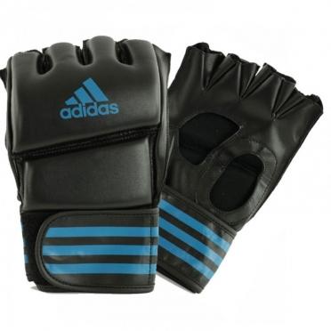 Adidas Grappling Training Handschoenen zwart/blauw