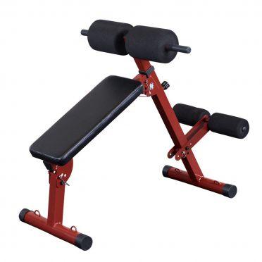 Body-Solid Best fitness Ab board hyperextension buik- en rugtrainer