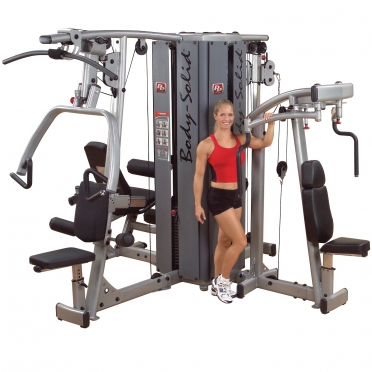 Body Solid Pro Dual Line 4 Stack Gym