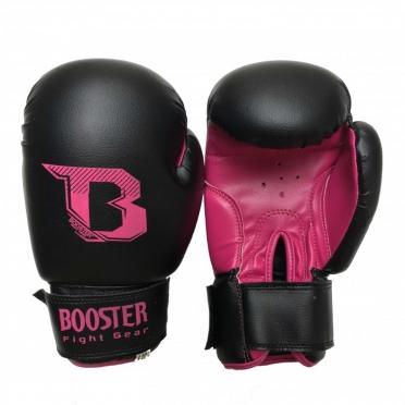 Booster Kids DUO bokshandschoenen neon zwart/roze