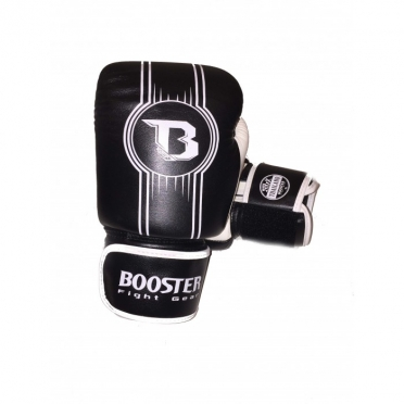 Booster Pro Range BGL V6 leren bokshandschoenen zwart/wit