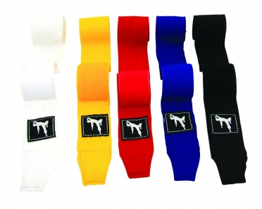 Bruce Lee Boksbandages Wit paar 14BLSBO090