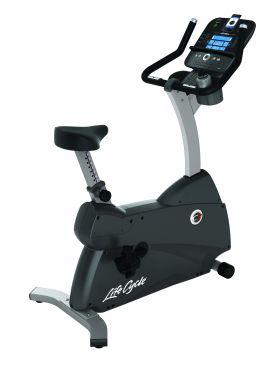 Life Fitness hometrainer C1 Track+ demo