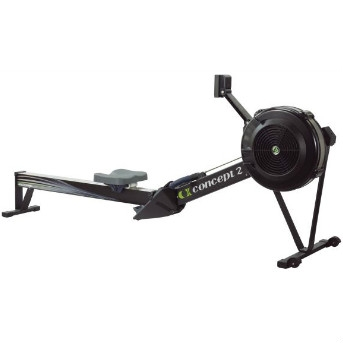 Concept2 roeitrainer model D PM5 display zwart
