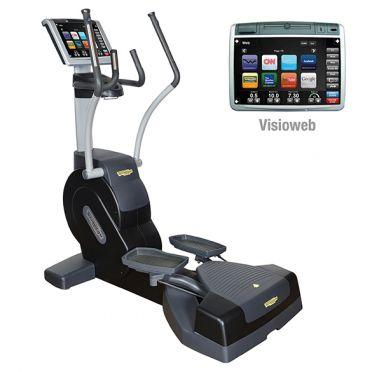 TechnoGym lateral trainer Crossover Excite+ 700 Visioweb zwart gebruikt