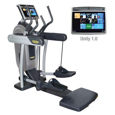 TechnoGym crosstrainer Excite+ Vario 700 Unity zilver gebruikt
