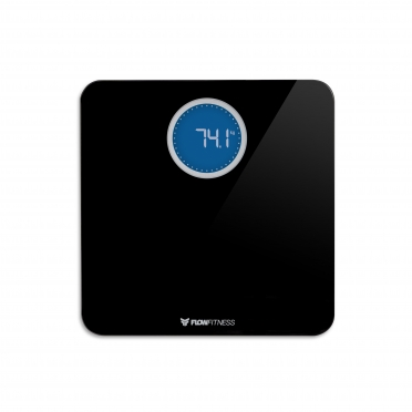 Flow Fitness Bluetooth Smart Scale Black BS20b