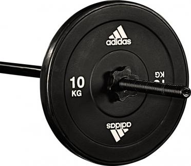Adidas Gewichtschijf 10 kg (1 stuk)