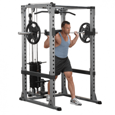 Body-Solid Pro Power rack Full Options