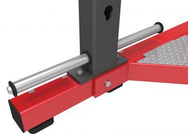 Hammer Strength Bottom sliding band pegs