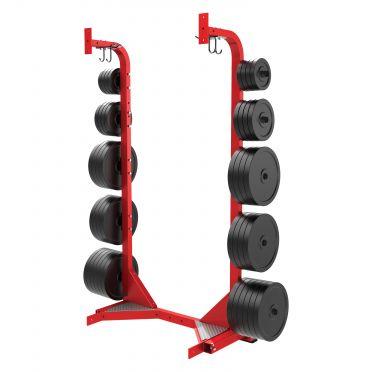 Hammer Strength Opslag rek voor halterschijven