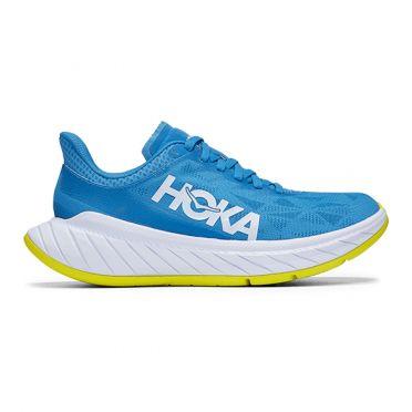 Hoka One One Carbon X 2 hardloopschoenen blauw dames