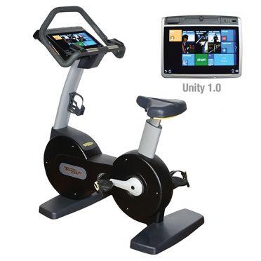 TechnoGym hometrainer Excite+ New Bike 700 Unity zwart gebruikt