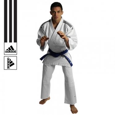 Adidas judopak J350 wit/zwart