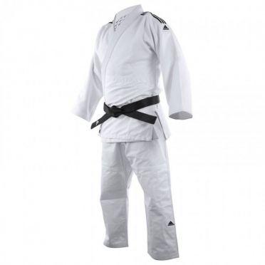 Adidas judopak J650 wit/zwart