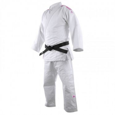 Adidas Judopak J690 Quest wit/roze
