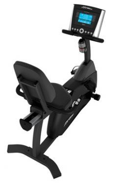 Life Fitness ligfiets recumbent Cycle R1 advanced Gebruikt