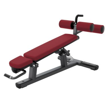 Life Fitness Signature Adjustable Decline - Abdominal Crunch Bench