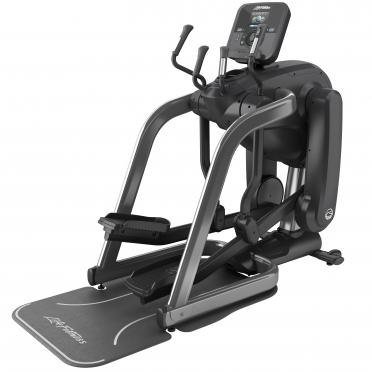 Life Fitness Platinum Club Series Flexstrider Explore Titanium Storm