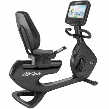 Life Fitness ligfiets 95R Discover SE gebruikt