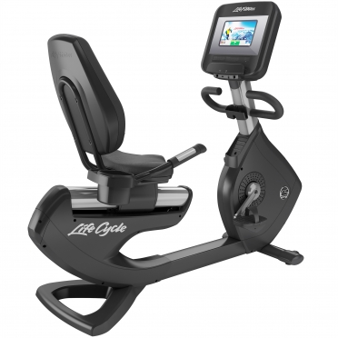 LifeFitness ligfiets Platinum Club Series Discover SI showroom