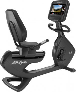Life Fitness ligfiets Platinum Club Series Discover SE3 Black Onyx