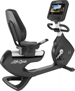 Life Fitness ligfiets Platinum Club Series Discover SE3 Diamond White