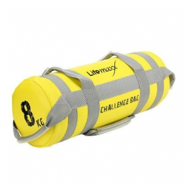 Lifemaxx Challenge Bag 8 kilogram Yellow LMX 1550.8