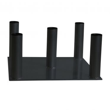 Lifemaxx 5 bar houder zwart