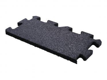 Lifemaxx Puzzelmat 20mm Crossmaxx jigsaw rubber rand (50 x 25 cm)
