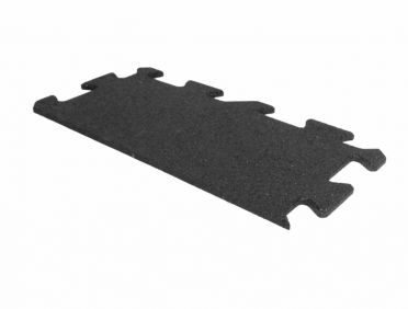 Lifemaxx Puzzelmat 10mm ECO rubber rand (50 x 25 cm)