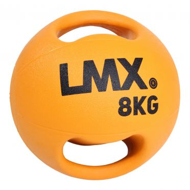 Lifemaxx medicijnbal met dubbel handvat 8 KG LMX 1250.8
