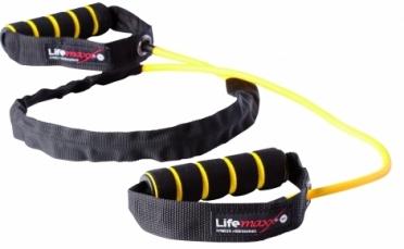 Lifemaxx Training tube licht LMX 1170 geel level 1