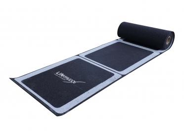 Lifemaxx Rubber roll-out ladder 4.5m LMX1277.1