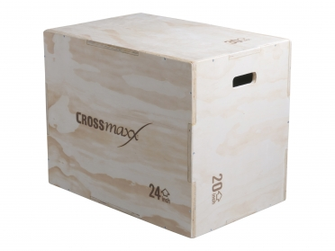 Lifemaxx Crossmaxx wooden plyo box (3-level) LMX1296
