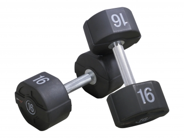 Lifemaxx PU dumbbellset LMX72.46kg