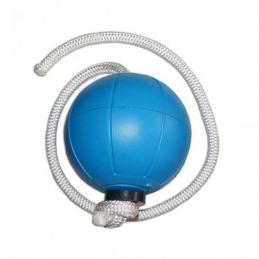 Loumet Rope Ball 1 kg - blauw