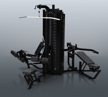 Matrix krachtstation G1 3-Stack Multigym Multistation Black