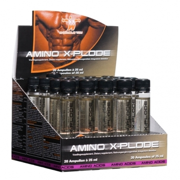 M Double You Amino X-Plode 20 x 25 ml